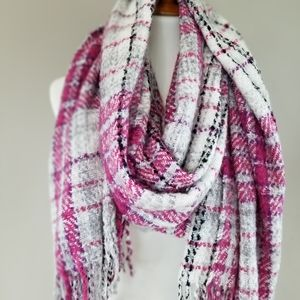 Juicy Couture Plaid Scarf